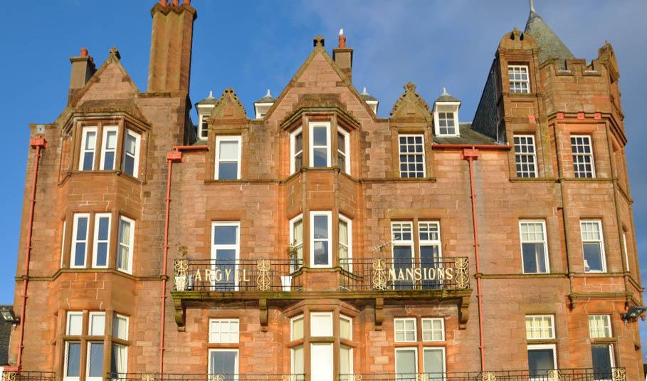 Argyll Mansions Oban